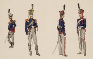 Bereden artillerie 1814-1815
